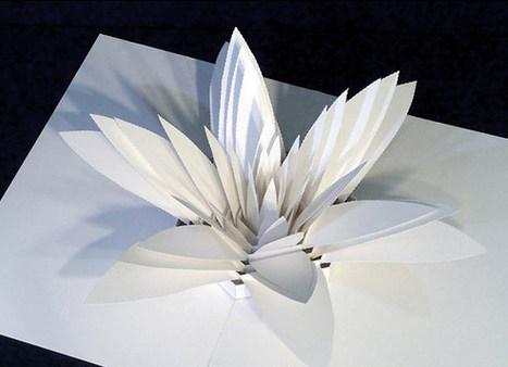 Incredibly Complex Paper Pop-Up Sculptures by Peter Dahmen | Bring back UK Design & Technology | Scoop.it