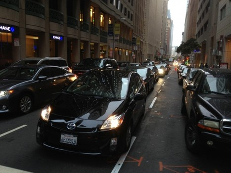 Bay Area Traffic Congestion Is Worse Than Anywhere in US Except LA - KQED (blog) | Location Is Everywhere | Scoop.it