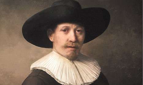 A computer painted this portrait of Rembrandt in the style of Rembrandt | Digital Creativity & Art | Scoop.it