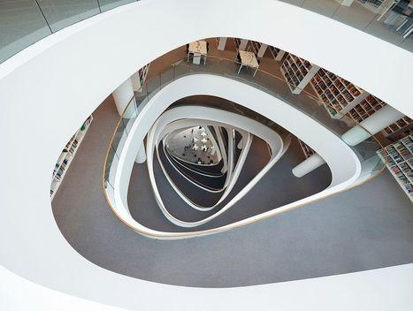 Nueva Biblioteca De La Universidad De Aberdeen | Arquitectura Del Siglo XXI | Scoop.it