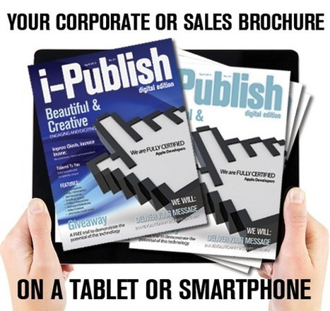 See how your corporate brochure could be enhanced with interactivity | iPad News | Scoop.it