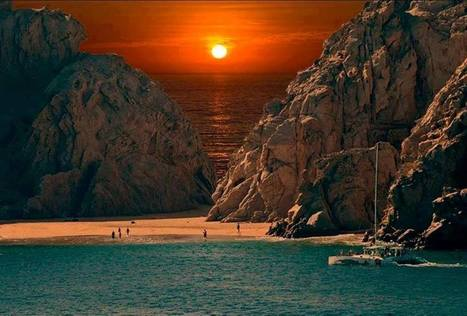 Sunset at Cabo San Lucas Beach Mexico | Northern America and South America Ethan and Alex | Scoop.it