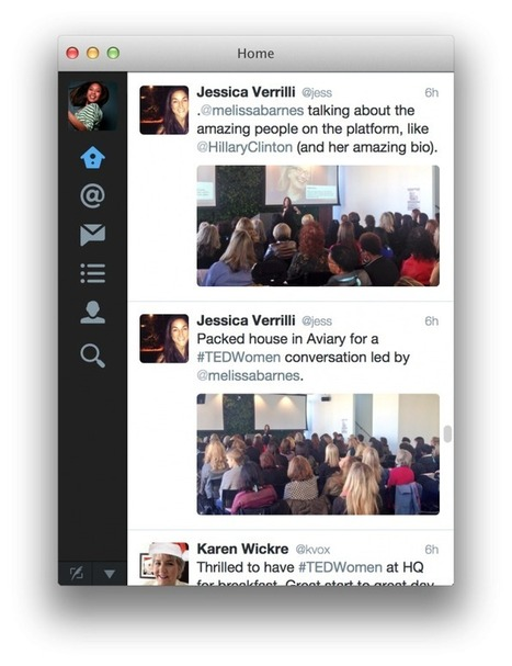 Twitter For Mac Now Features Expandable Timelines, Explorable Tweets, Slicker Design - AllTwitter | SocialWebBusiness | Scoop.it