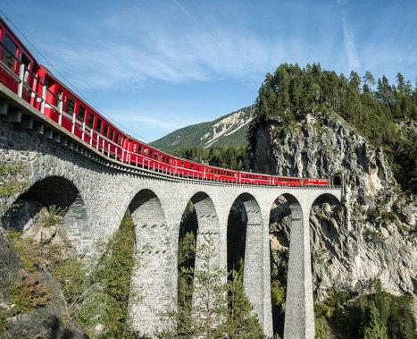 Zufriedenstellendes Ergebnis 2015: Die Erneuerung der RhB schreitet voran | Rhätische Bahn Today | Scoop.it