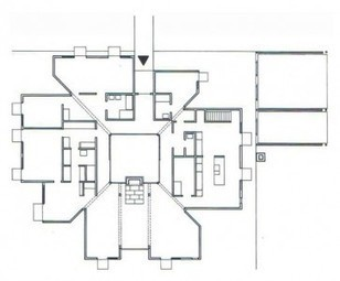 The Plan is a Society of Rooms*: Goldenberg House by Louis Kahn... | The Architecture of the City | Scoop.it