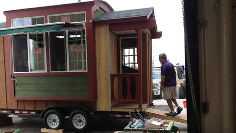 Thinking big about a tiny house - The Salinas Californian | inspiring | Scoop.it