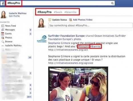 """Facebook Lance les """"Related Hashtags""""   Médias sociaux et tout ça   Scoop.it"""