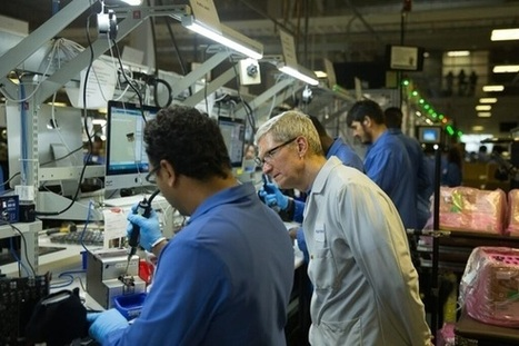 Oops! Tim Cook tweets photo of Mac production line running Windows | Digital-News on Scoop.it today | Scoop.it