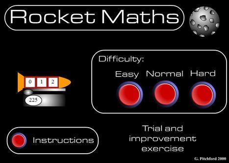 Rocket Maths | Adnoddau Mathemateg | Scoop.it