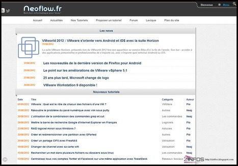 Neoflow.fr solution informatique pour tous | Time to Learn | Scoop.it