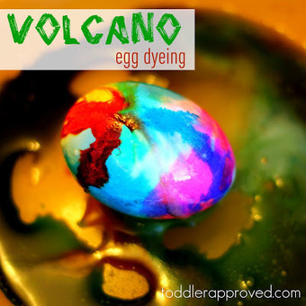 Toddler Approved!: Volcano Egg Dyeing | Early Childhood Education | Scoop.it