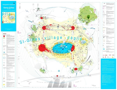 Carte : Saint-Gilles / Bruxelles. La commune vue par ses habitants (Géographie subjective) | Géographie et Imaginaire | Scoop.it