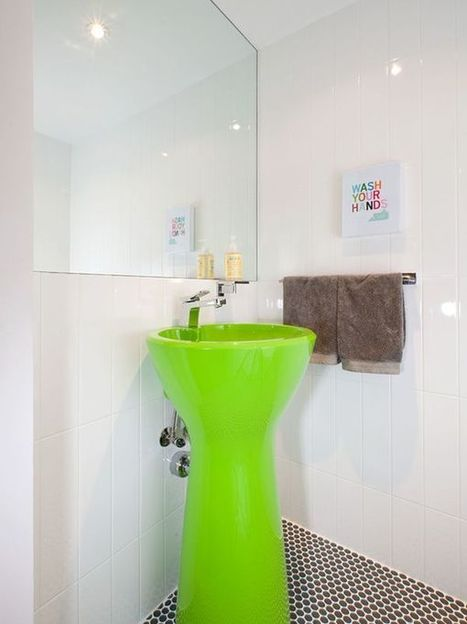 How To Work With Bold Neon Colors When Decorating Your Home | Designing Interiors | Scoop.it