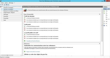 Règles de pare-feu pour Windows | Au fil du Web | Scoop.it