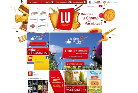 LU et ses marques filles réunies sur un même site web | E-marketing Topics | Scoop.it