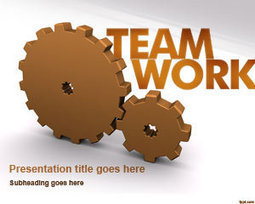 Free Gears & Team Work PowerPoint Template | Free Powerpoint Templates | Allan James Albacite | Scoop.it