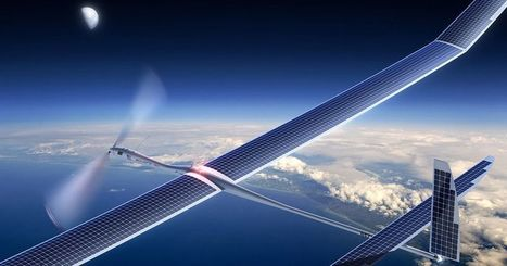 Google plans to beam 5G internet from solar drones | Heron | Scoop.it
