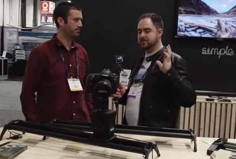 Syrp Genie Time Lapse & Magic Carpet Slider - NAB 2014 from NextWaveDV | HDSLR | Scoop.it