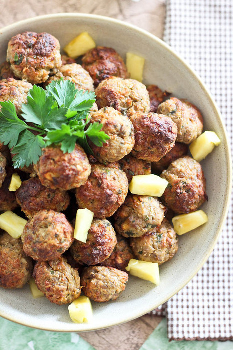 Healthy Pineapple Meatballs | Strong is the New Skinny! | Scoop.it