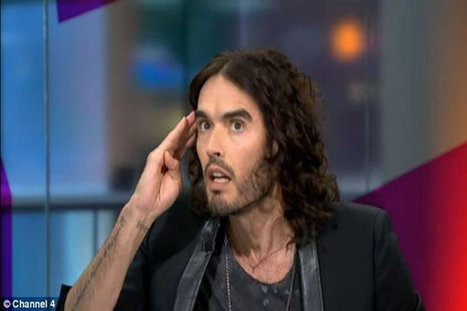 Russell Brand Meets His Match on the Legalities of Drugs | Worldwide News | Scoop.it