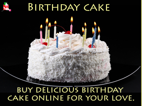 Buy Delicious Birthday Cake Online For Your Love.   BlossomSquare   Scoop.it