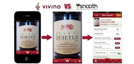 Reconnaissance d'images: les applications d'amateurs de vin | Tag 2D & Vins | Scoop.it