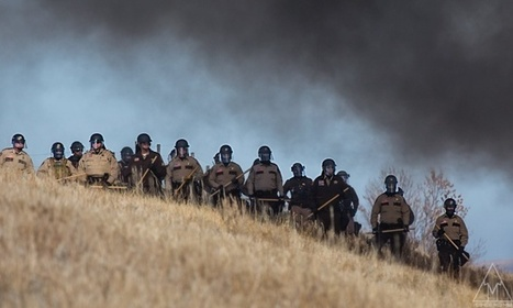 Why Police From 7 Different States Invaded a Standing Rock Camp—and Other Questions   OMG, WTF, ROFL, IDK, HTH?   Scoop.it
