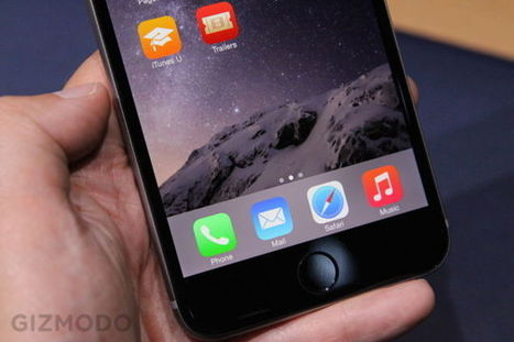 iPhone 6 Plus Hands-On: It's So Big | Mobile Business News | Scoop.it