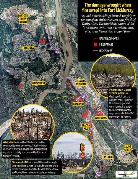 Fort McMurray fire: The great escape   StewiackeNews   Scoop.it