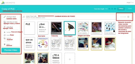 En la nube TIC: COMPONER VIDEOS ON LINE CON ANIMOTO | APRENDIZAJE | Scoop.it