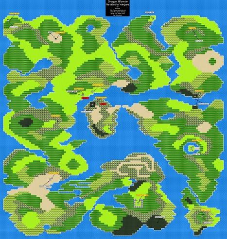 8-Bit Week: World Maps | SideQuesting… We Love Video Games! | Retrogaming, forums, blogs, sites | Scoop.it