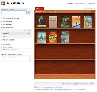 En la nube TIC: Estante de lectura con Anobii | WEBOLUTION! | Scoop.it