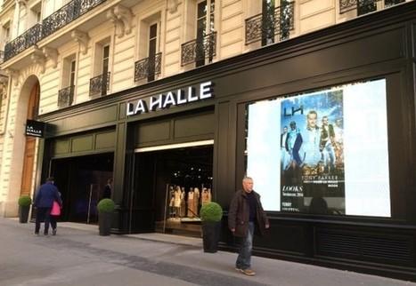 France : Le second flagship très numérique de La Halle Mode - Ooh-tv   Digital Retail   Scoop.it