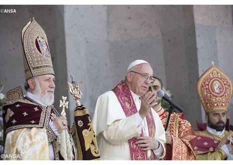 """Pápež František pri arménskej liturgii: """"Nech je spoločenstvo medzi nami plné""""   Správy Výveska   Scoop.it"""
