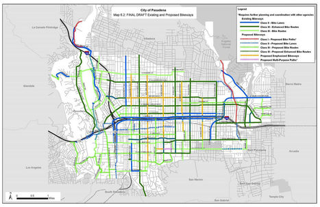 Caltech Pushes for Speedier East-West Bike Lanes in Pasadena ... | motorcycles | Scoop.it