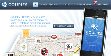 Coupies, cupones con realidad aumentada Loogic.com | Realidad aumentada | Scoop.it