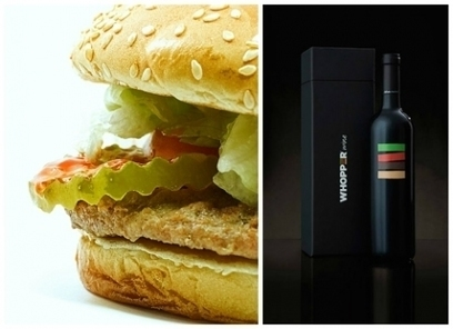 Burger King Creates Flame-Grilled Wine | Quirky wine & spirit articles from VINGLISH | Scoop.it