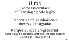 U-tad. Centro Universitario de Tecnología y Arte Digital » U-tad convoca las Becas 4U: especialízate en Computación gráfica y simulación con los Postgrados de U-tad   Gestión y desarrollo de las imágenes digitales   Scoop.it