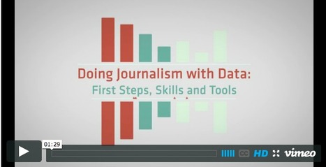 """Doing Journalism With Data"" : le prochain MOOC 