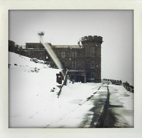 neige au Mont Aigoual, froid record à Montpellier | La Gazette de Montpellier.fr | Regarder le ciel | Scoop.it