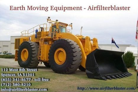 Earth Moving Equipment | airfilterblaster | Scoop.it