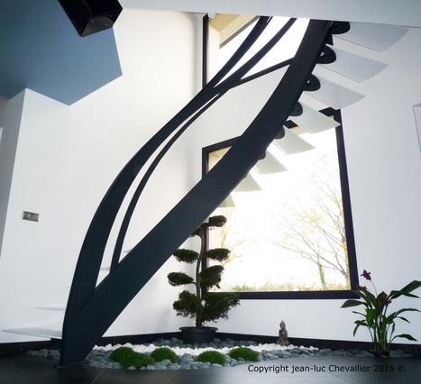Escalier design infini | Escalier Design Mobilier Contemporain de style Art Nouveau | Scoop.it