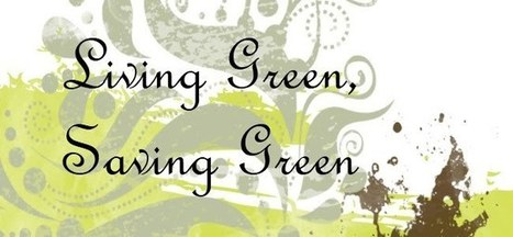 Living Green, Saving Green: Budget and Eco-friendly Decorating | Eco-Friendly Decorating on a Budget | Scoop.it