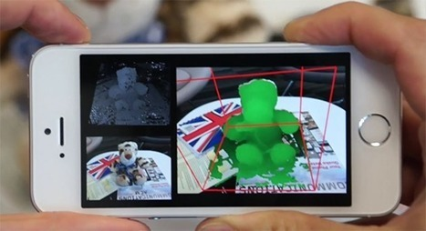 Microsoft's MobileFusion Brings 3D Scanning to Ordinary Smartphones | Smart devices and technology solutions | Scoop.it