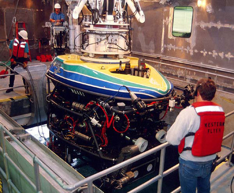 NOAA Ocean Explorer: Technology: Submersibles: Tiburon | Marine Mineral Resources | Scoop.it