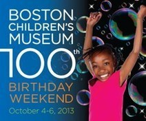 Boston Children's Museum Celebrates 100 Years with Weekend of Music, Making and Movement October 4-6, 2013 | Boston-area Museums | Scoop.it