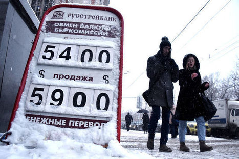 Russia Defends Ruble With Biggest Rate Rise Since 1998 | Valuation, M&A, Investments | Scoop.it
