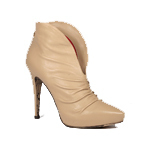 Cesare Paciotti Womens Shoes Beige Nappa Leather Boots | Wedding shoes | Scoop.it