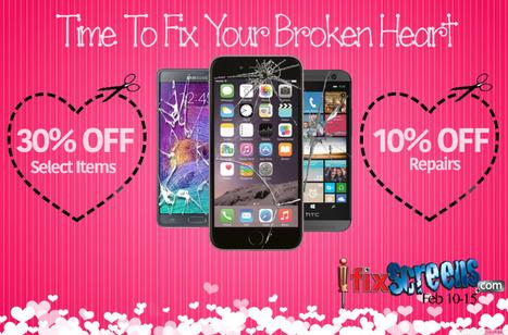 Valentine Sale! | ifixscreens | Scoop.it