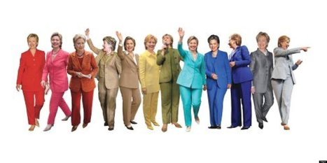 LOOK: It's A Pantsuit Rainbow! | Women and Work | Scoop.it